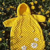 Работы для детей, ручной работы. Ярмарка Мастеров - ручная работа Конверт для новорожденного Медовый. Handmade.