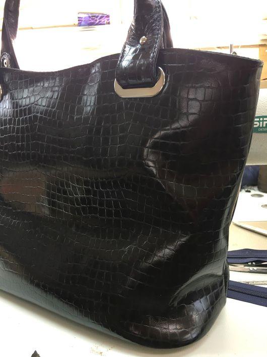 Женские сумки ручной работы. Ярмарка Мастеров - ручная работа. Купить М715. Handmade. Натуральная кожа, классический стиль, на плечо