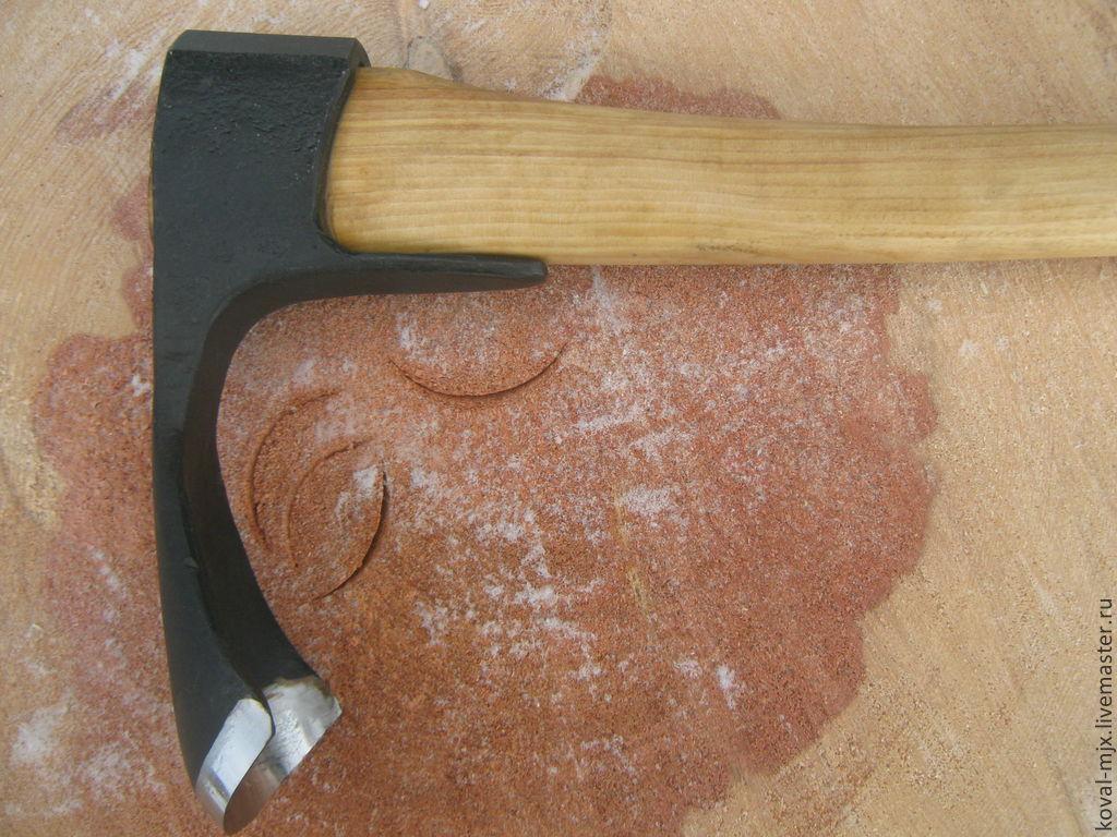 Adze chopping, Tools, Cheremshanka,  Фото №1