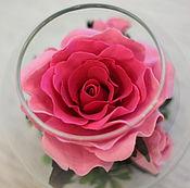 Цветы и флористика ручной работы. Ярмарка Мастеров - ручная работа Цветы в стекле. Handmade.