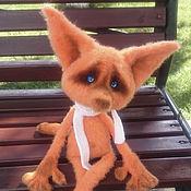 Stuffed Toys handmade. Livemaster - original item Lone Fox Mulder. Handmade.