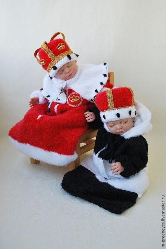 Для новорожденных, ручной работы. Ярмарка Мастеров - ручная работа. Купить Шапка-корона для фотосессии. Handmade. Шапка, маленький принц