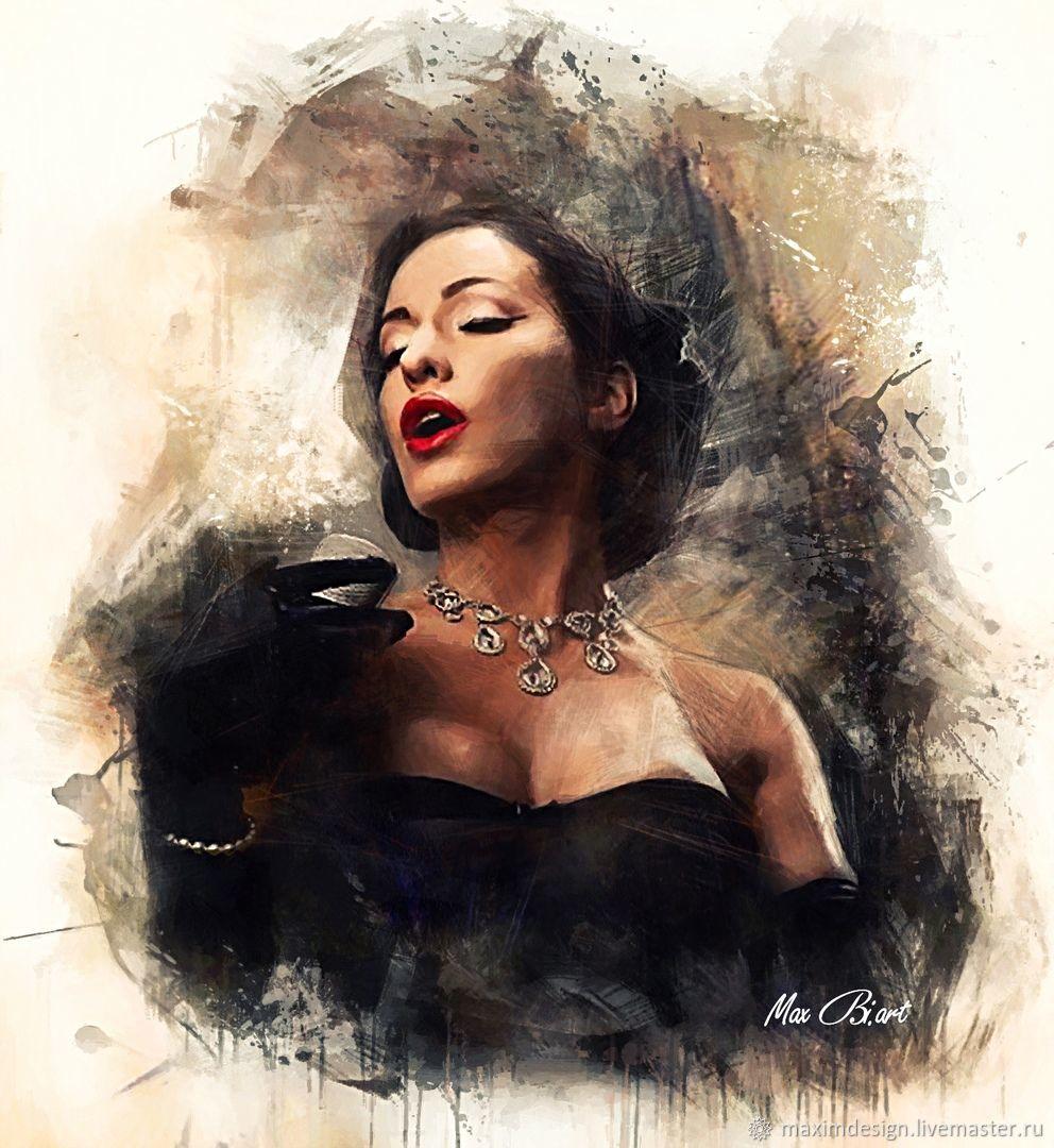 Женский портрет по фото, Фотокартины, Санкт-Петербург, Фото №1