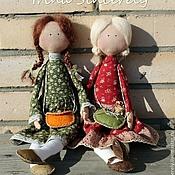 """Куклы и игрушки ручной работы. Ярмарка Мастеров - ручная работа """"Гимназистки"""". Handmade."""