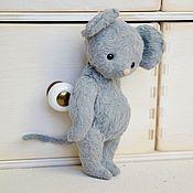 Куклы и игрушки handmade. Livemaster - original item Mouse, Teddy mouse. Handmade.