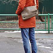 """Сумки и аксессуары ручной работы. Ярмарка Мастеров - ручная работа Crossbody """"Messenger"""" из натуральной кожи (сумка через плечо). Handmade."""