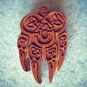 Русский стиль handmade. Livemaster - original item Pendant Seal Of Veles. Handmade.