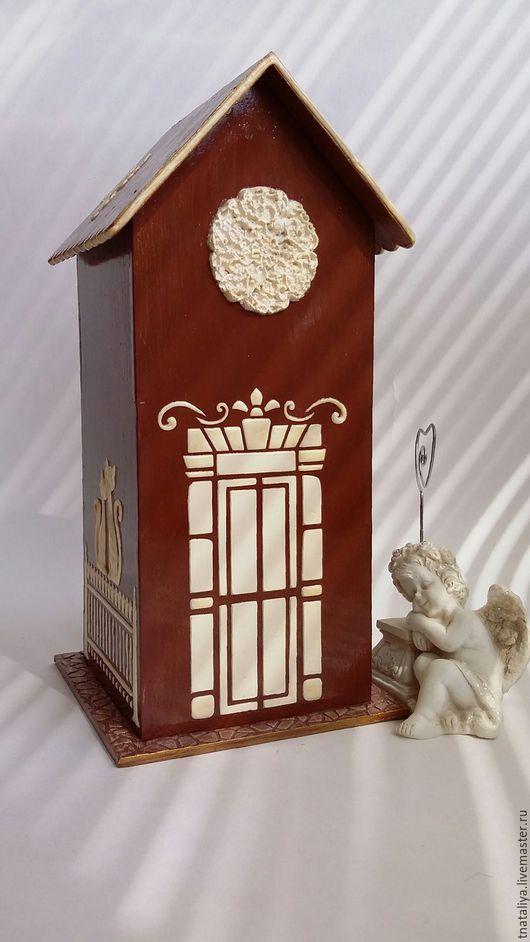 Кухня ручной работы. Ярмарка Мастеров - ручная работа. Купить Чайный домик в стиле барокко. Handmade. Подарок женщине, коричневый