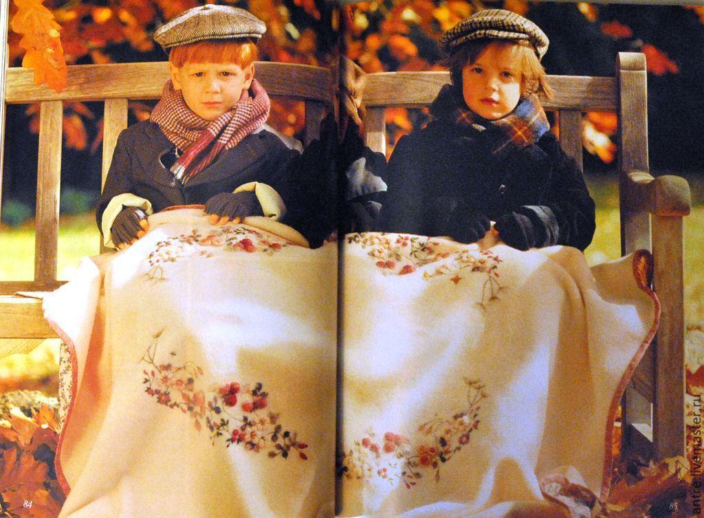 """Книга """"Вышитые одеяла Для"""