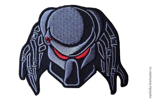Аппликации, вставки, отделка ручной работы. Ярмарка Мастеров - ручная работа. Купить Нашивка Хищник Predator Предатор Страйкбол Strikeball Alien. Handmade.