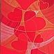 """Подарки для влюбленных ручной работы. рисунок """"Сплетение сердец"""". Жуковская Юлия (живопись, графика,) (art-juli). Интернет-магазин Ярмарка Мастеров."""