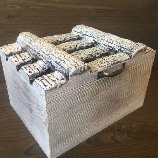 Корзины, коробы ручной работы. Ярмарка Мастеров - ручная работа. Купить Короб-ящик Письма. Handmade. Короб для хранения, короб