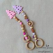 Куклы и игрушки handmade. Livemaster - original item Silicone rodent Herringbone with rings and juniper. Handmade.
