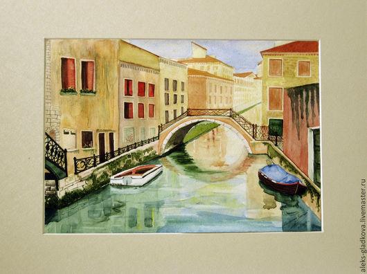 Город ручной работы. Ярмарка Мастеров - ручная работа. Купить Солнечная Венеция. Handmade. Венеция, солнце, солнечный день