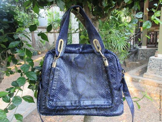 Женские сумки ручной работы. Ярмарка Мастеров - ручная работа. Купить Сумка Chloe. Handmade. Тёмно-фиолетовый, лакированная сумка