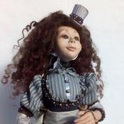 Куклы и игрушки ручной работы. Ярмарка Мастеров - ручная работа Алиса в стране Чудес,  Авторская кукла. Handmade.