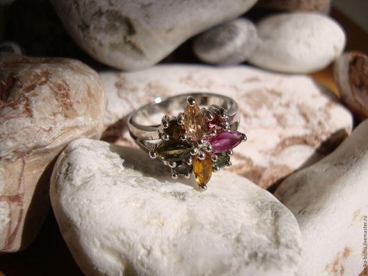 """Кольца ручной работы. Ярмарка Мастеров - ручная работа. Купить Кольцо """"Звезда рассвета"""".. Handmade. Кольцо из серебра, стильное кольцо"""