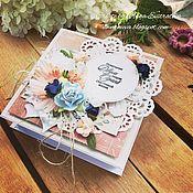 Открытки handmade. Livemaster - original item Wedding gift box. Handmade.