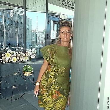 """Одежда ручной работы. Ярмарка Мастеров - ручная работа Валяное платье """"Амазонки"""". Handmade."""