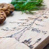 """Для дома и интерьера ручной работы. Ярмарка Мастеров - ручная работа Доска деревянная """"Пихта"""" ручная работа. Handmade."""