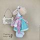 Игрушка овечка тильда. Текстильная интерьерная игрушка овечка. Куклы и игрушки Томашевской Ирины.