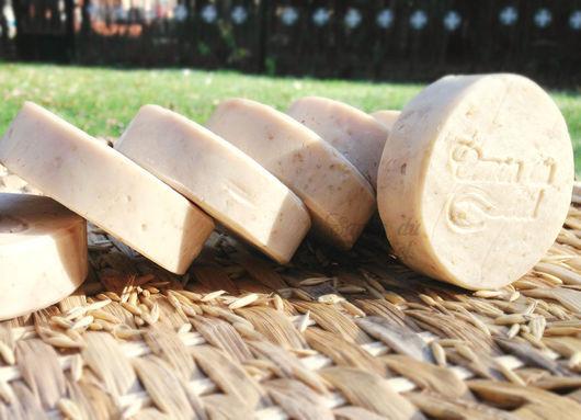 Мыло с нуля на козьем молоке, овсяном молоке с добавлением молотой овсянки и масла манго