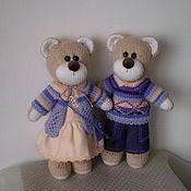 Куклы и игрушки ручной работы. Ярмарка Мастеров - ручная работа Медвежата вязаные. Handmade.