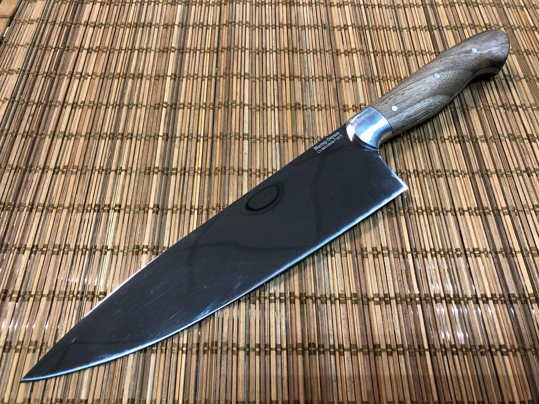 Нож шеф кухонный 200 мм Мастер Окунев, Ножи, Нижний Новгород,  Фото №1