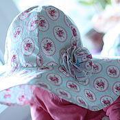 Работы для детей, ручной работы. Ярмарка Мастеров - ручная работа Широкополая шляпа для девочки. Handmade.