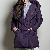 Одежда handmade. Livemaster - original item Burgundy insulated coat. Handmade.
