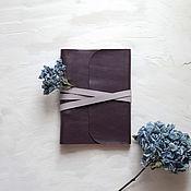 Канцелярские товары handmade. Livemaster - original item notebook genuine leather. Handmade.