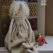Куклы Тильда ручной работы. Ярмарка Мастеров - ручная работа Куклы Тильда: АЙНЕ. Handmade.