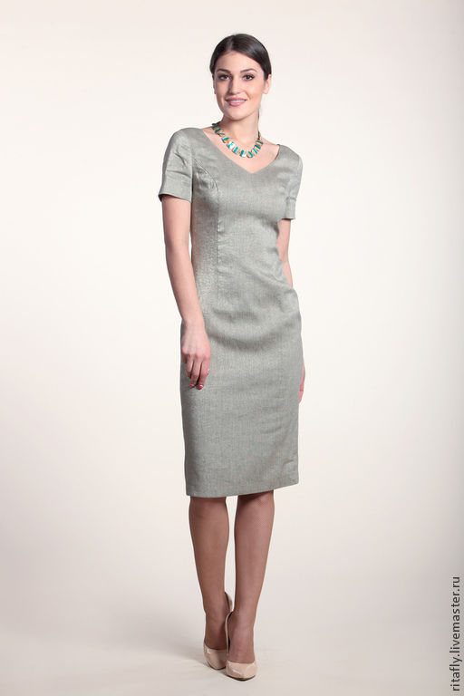 Классическое платье на выход