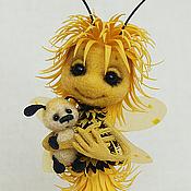 Куклы и игрушки ручной работы. Ярмарка Мастеров - ручная работа Пчелка Одуванчикова. Handmade.