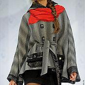 """Одежда ручной работы. Ярмарка Мастеров - ручная работа Пальто-пончо """"Шиншилла"""" 1. Handmade."""