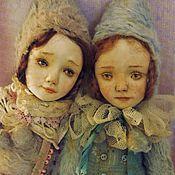 Куклы и игрушки ручной работы. Ярмарка Мастеров - ручная работа Две малышки.... Handmade.