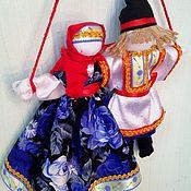 Народная кукла ручной работы. Ярмарка Мастеров - ручная работа Неразлучники, оберег. Handmade.