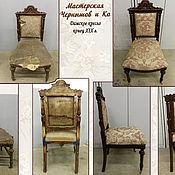 Для дома и интерьера ручной работы. Ярмарка Мастеров - ручная работа Реставрация. Кресло только для дам.. Handmade.