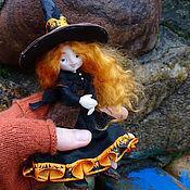 Куклы и игрушки handmade. Livemaster - original item Willow, the little witch - poseable art doll. Handmade.