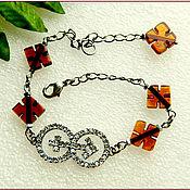 Украшения handmade. Livemaster - original item Amber. Bracelet