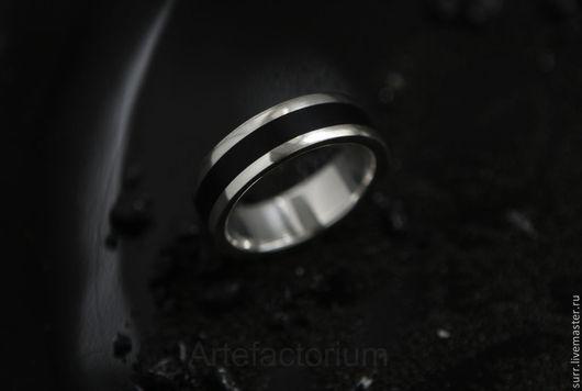"""Кольца ручной работы. Ярмарка Мастеров - ручная работа. Купить Кольцо с грабом """"Чёрный ветер"""" № 180. Handmade. Черный"""
