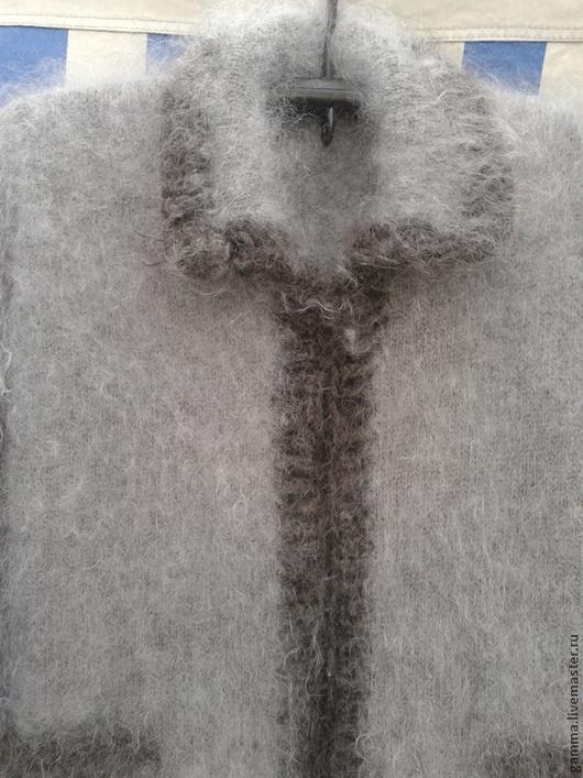 Кофты и свитера ручной работы. Ярмарка Мастеров - ручная работа. Купить Пуховое пальто. Скидка 20%. !!!. Handmade.
