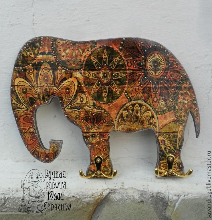 Слон картинки декупаж