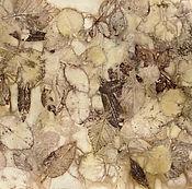 Картины и панно ручной работы. Ярмарка Мастеров - ручная работа Картина Лист 3 из серии осенние фантазии. Handmade.