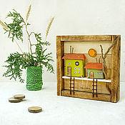 Картины и панно handmade. Livemaster - original item Decor for detskiye for stance to hang on stepno. Handmade.
