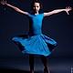 """Танцевальные костюмы ручной работы. Ярмарка Мастеров - ручная работа. Купить Рейтинговое платье для бальных танцев """"Charming dancer"""". Handmade."""