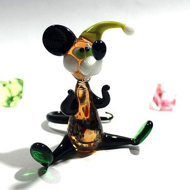 Для дома и интерьера ручной работы. Ярмарка Мастеров - ручная работа Мышь Мюмзик в колпаке. Handmade.