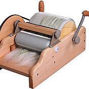 Материалы для творчества ручной работы. Ярмарка Мастеров - ручная работа Барабанный кардер для супер тонких волокон. Handmade.