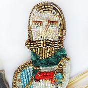 Украшения handmade. Livemaster - original item Nicholas II (the portrait brooch). Handmade.