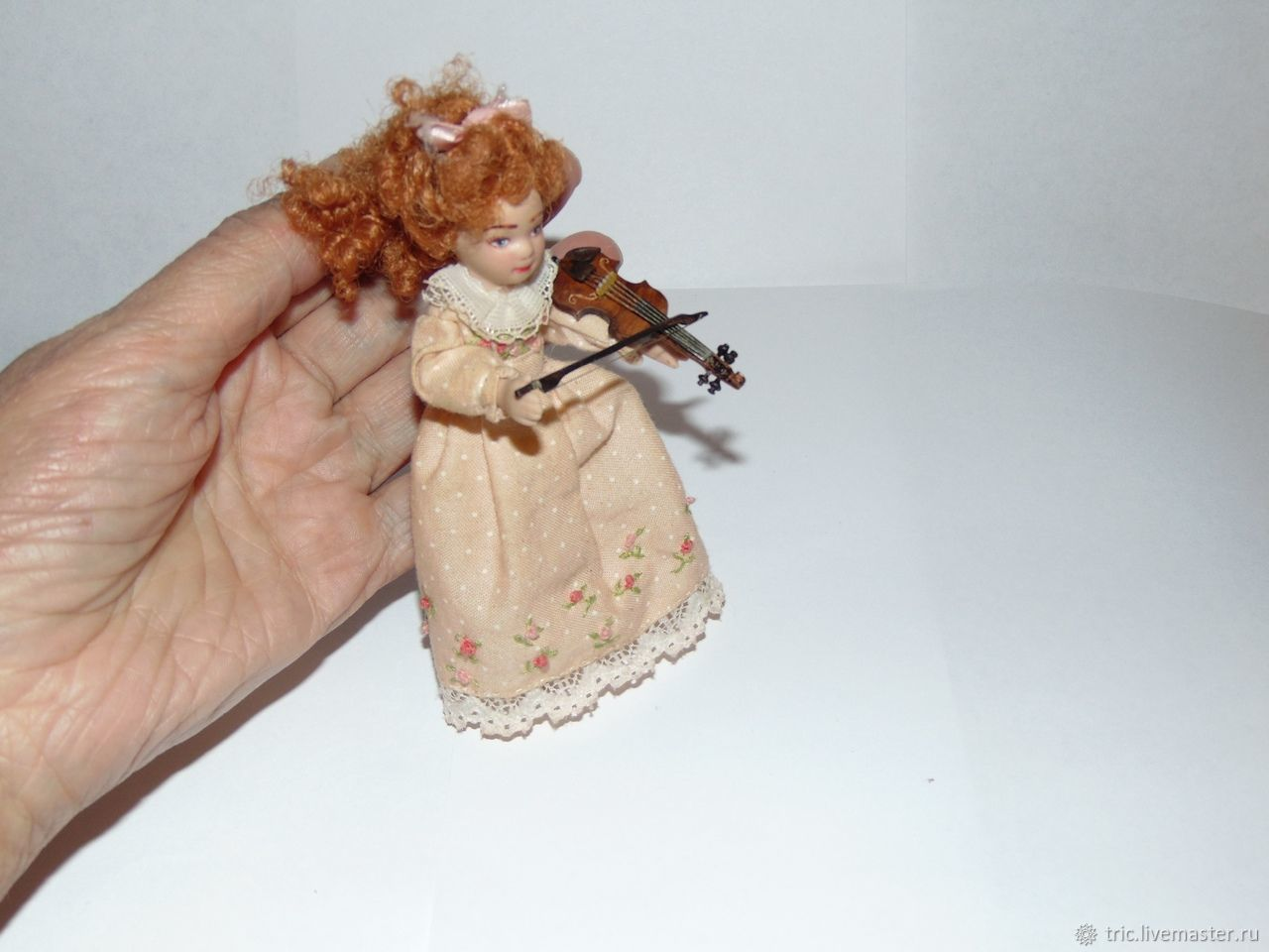 Скрипки для кукольных детей 4 см 2 мм, Мини фигурки и статуэтки, Муром,  Фото №1